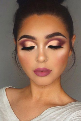 24 Best Fall Makeup Looks And Trends For 2018 Makijaż Proste