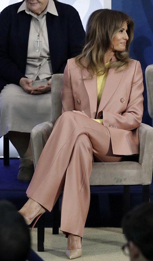 First Lady Melania Trump @ IWOC 2018 (AP)