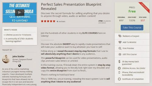Udemy Course - Perfect Sales Presentation Blueprint Revealed (Free - best of blueprint software free mac
