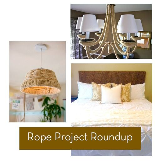 10 cool #DIY projects with rope!