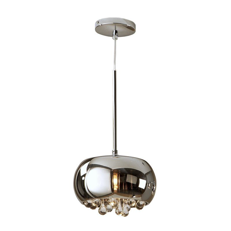 Bodden 1 Light Pendant Pendant Light Pendant Lighting Drum Pendant Lighting