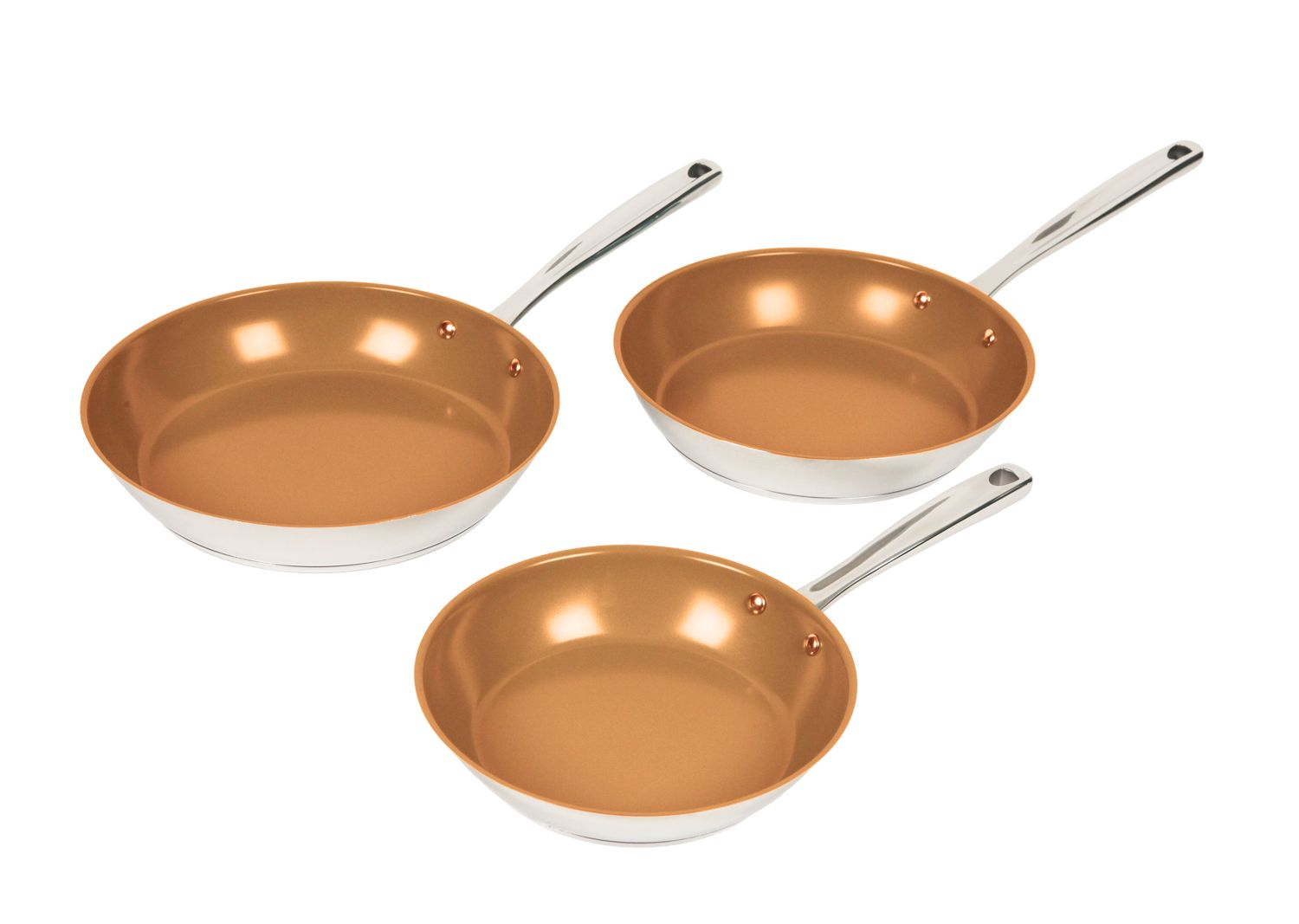 The Perfectgreen Fry Pan Comes In 3 Sizes 9 Quot 10 5 Quot And 11