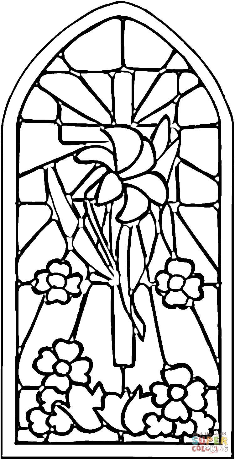 Easter coloring pages   Images Floral   Pinterest