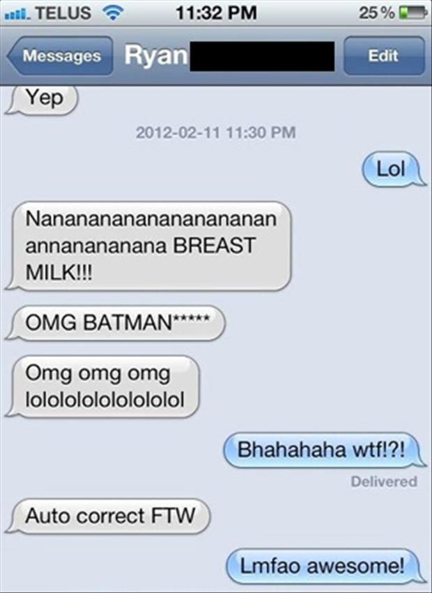 Autocorrect Texting Fails Makes Movies Sound Funnier