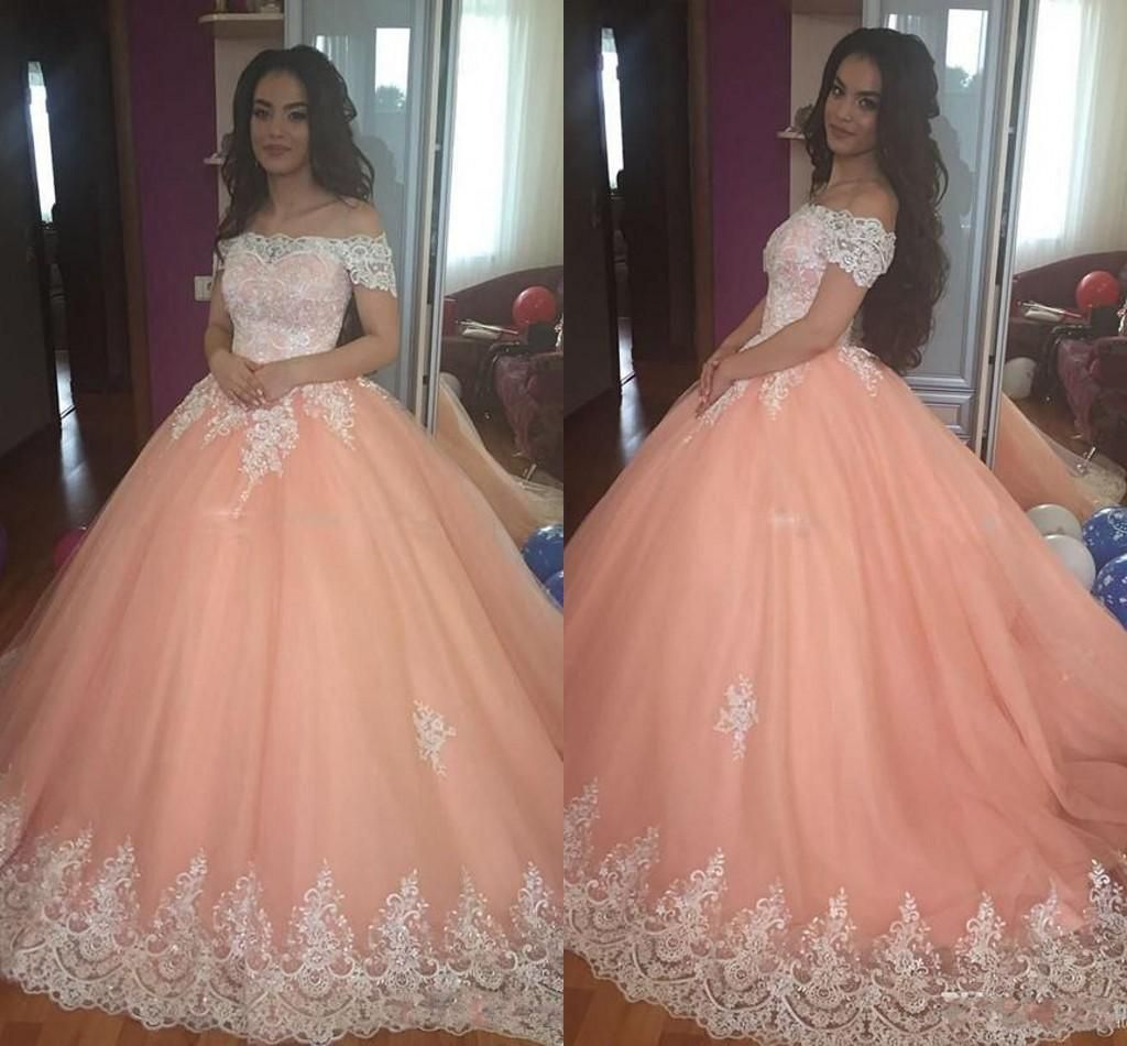 2017 Yellow Ball Gown Quinceanera Dresses With Hand Made Flowers Off Shoulder Sw…