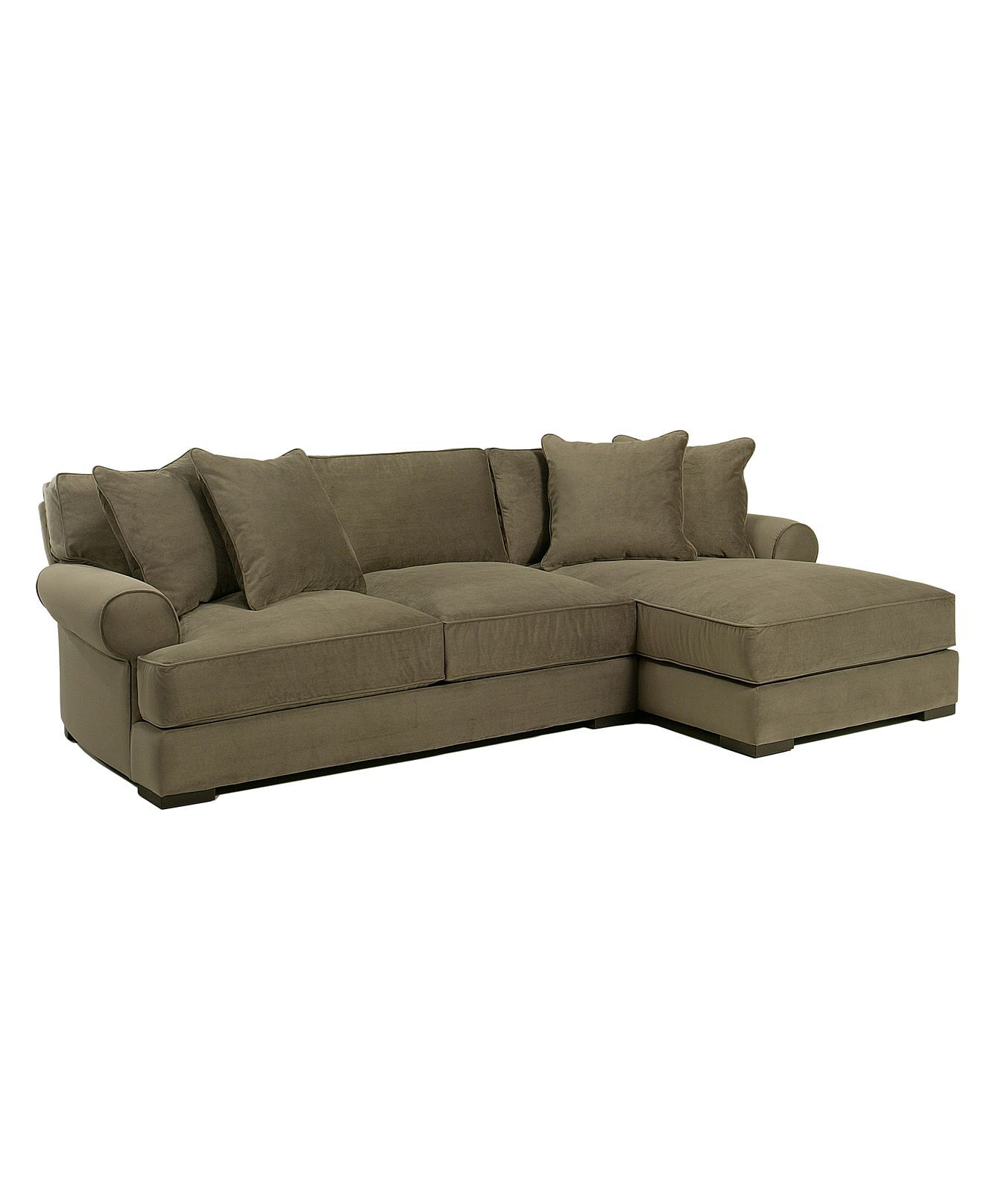Mattie Sectional Sofa, 2 Piece (Apartment Sofa and Chaise ...