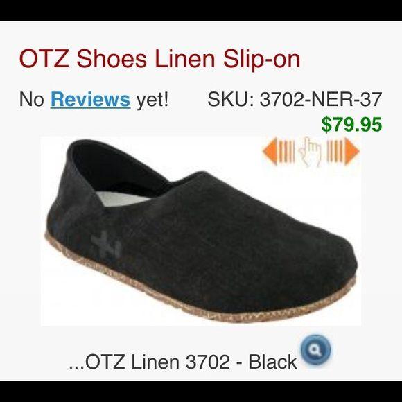 Cork slip in shoes Black,worn once,women size 8 linen cotton Cork Shoes Flats & Loafers