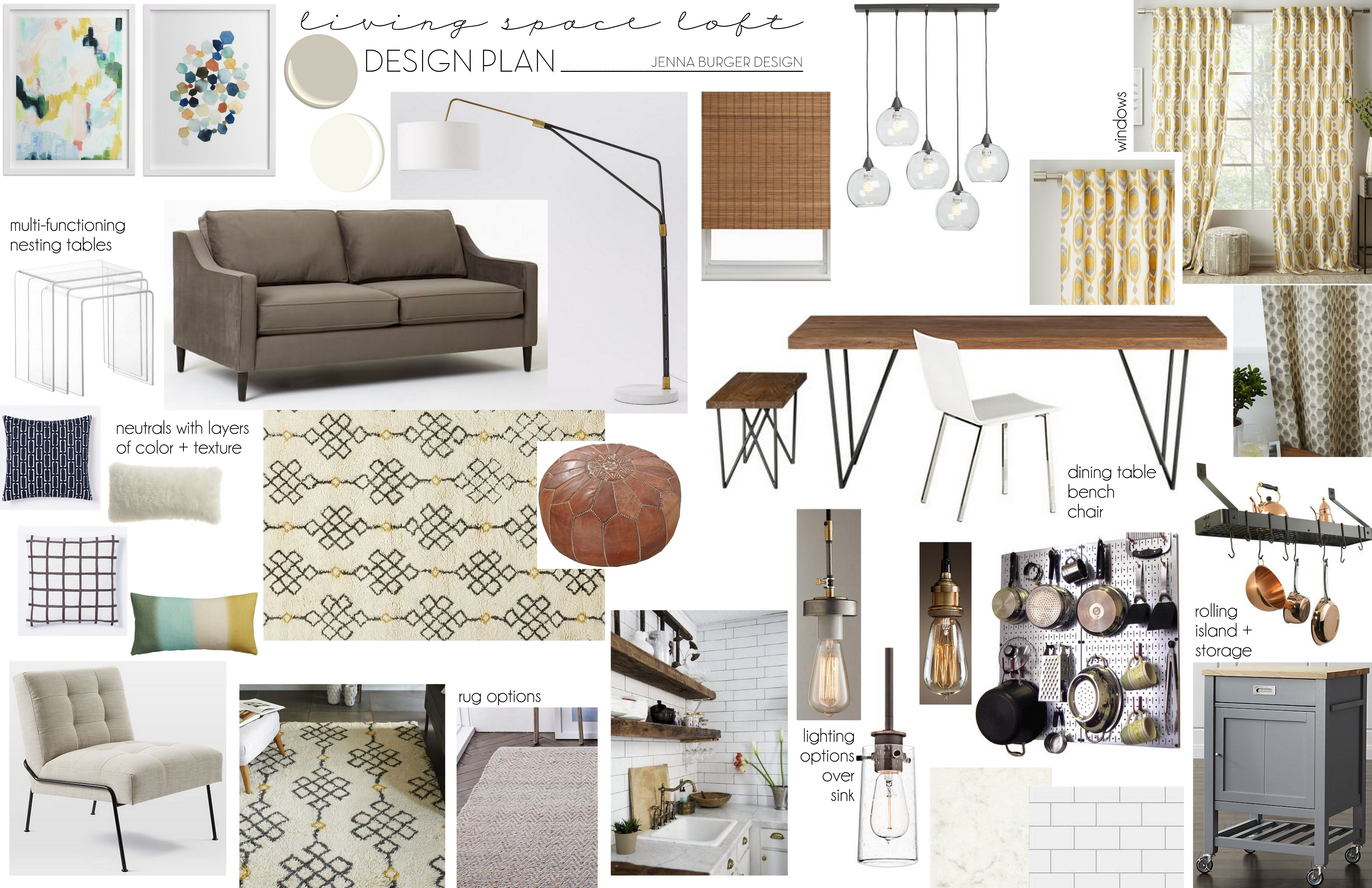 Creating An Interior Design Plan Mood Board Interior Design