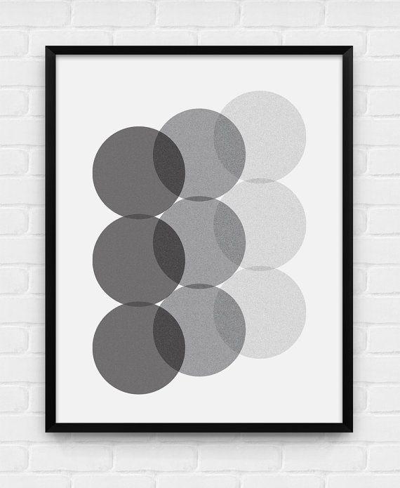Nine Circles by BlackAndWhitePosters
