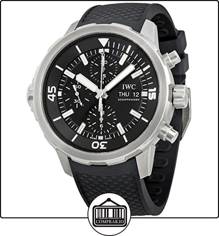 IWC RELOJ DE HOMBRE AUTOMÁTICO CORREA DE GOMA CAJA DE ACERO IW376803 ✿  Relojes para hombre - (Lujo) ✿ b27e22042db6