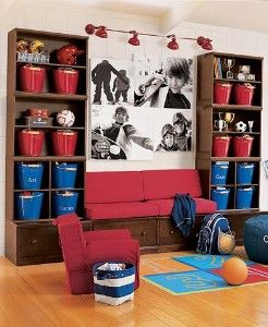 Pottery Barn Kids Cameron Wall Boys Room Decor Kid