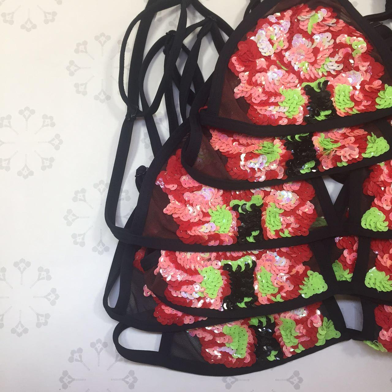 Airavata swimwear hand made embroidery luxury brand