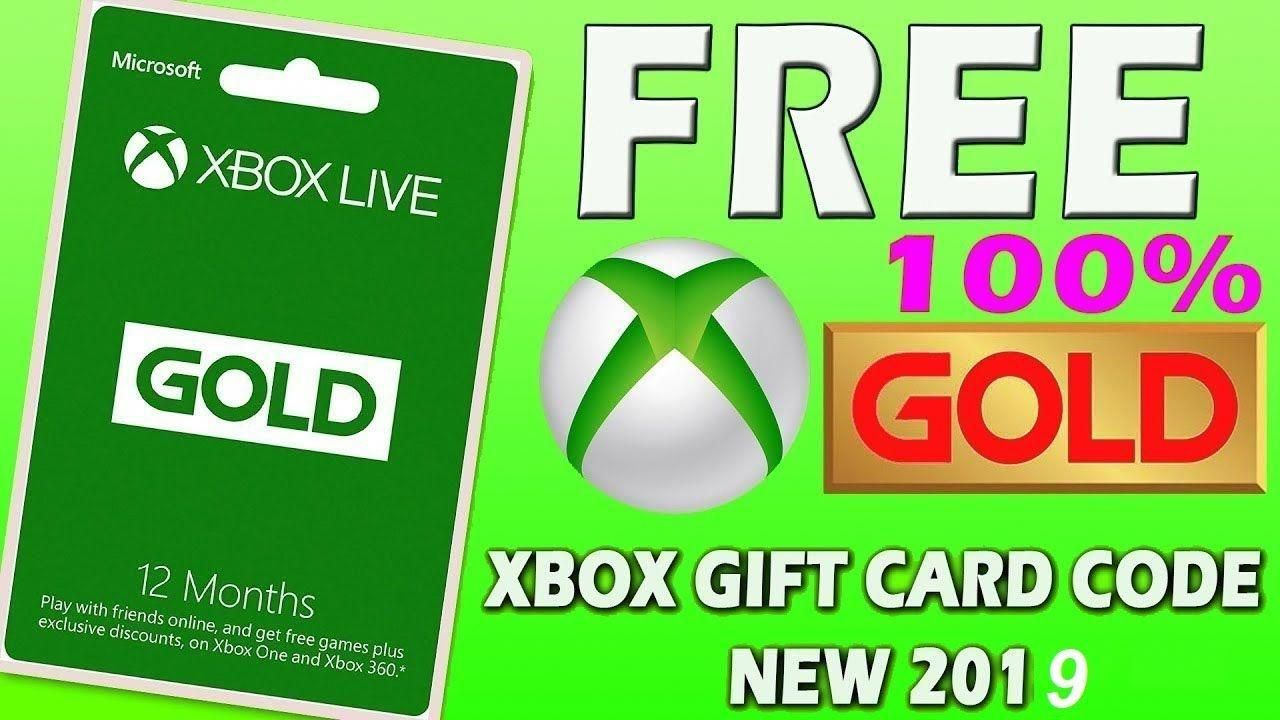 Free xbox gift card codes how to get free xbox codes