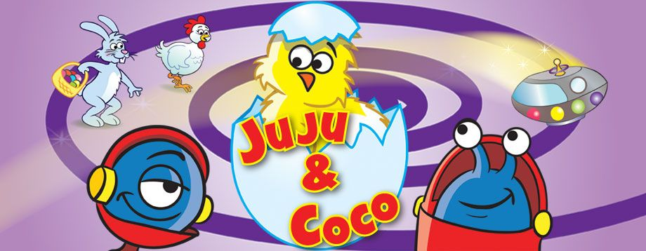 """Ever After Apps releases their first interactive storybook app """"Juju & Coco"""" on iTunes."""