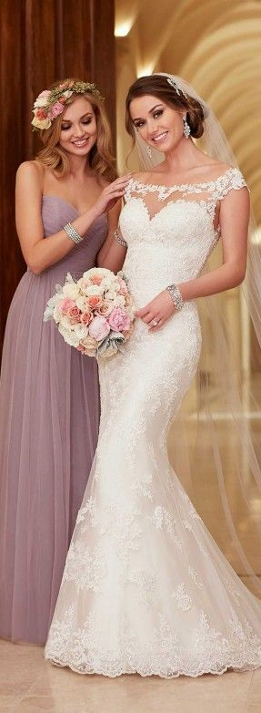 Stella York Spring 2016 Bridal Collection - Belle The Magazine...love this dress; though maybe not the price tag