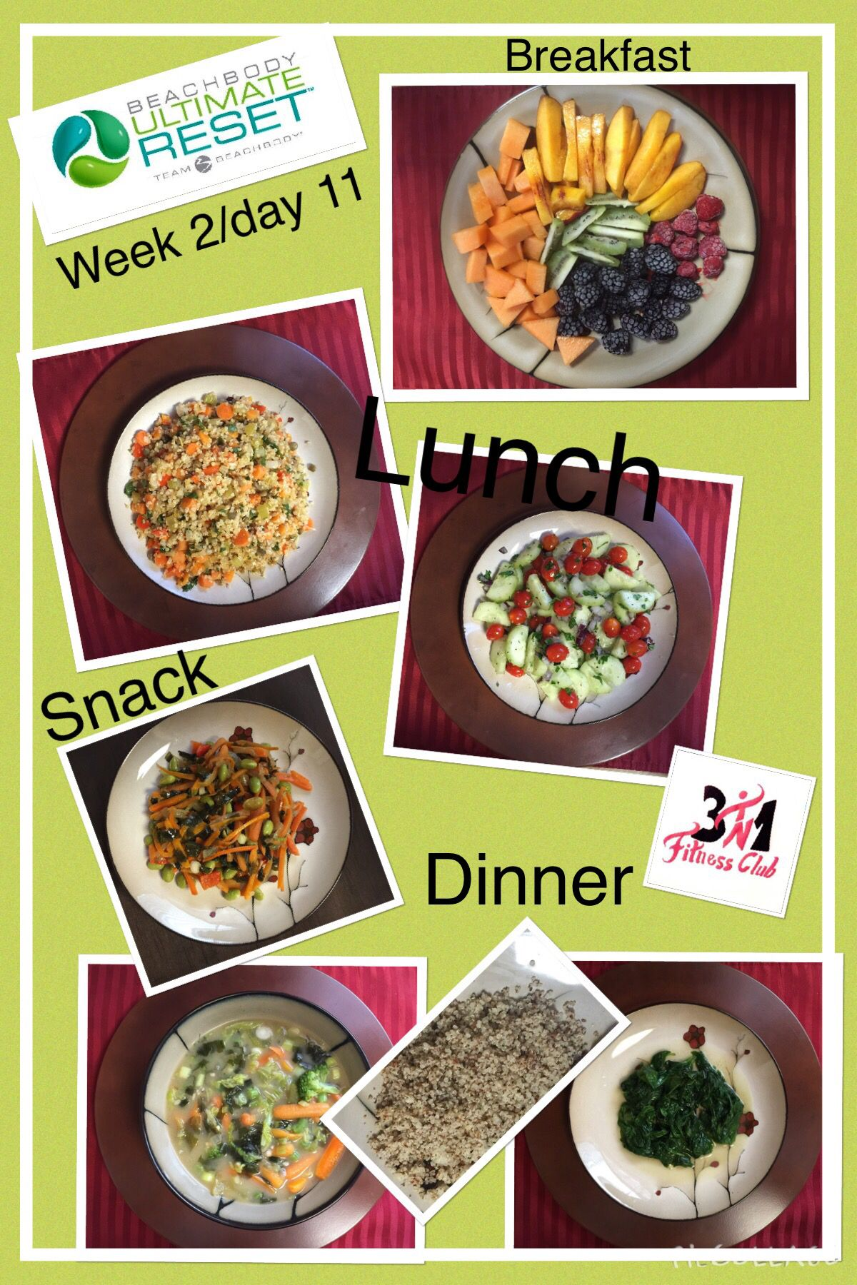 Beachbody Ultimate Reset Week 2 Day 11 With Images