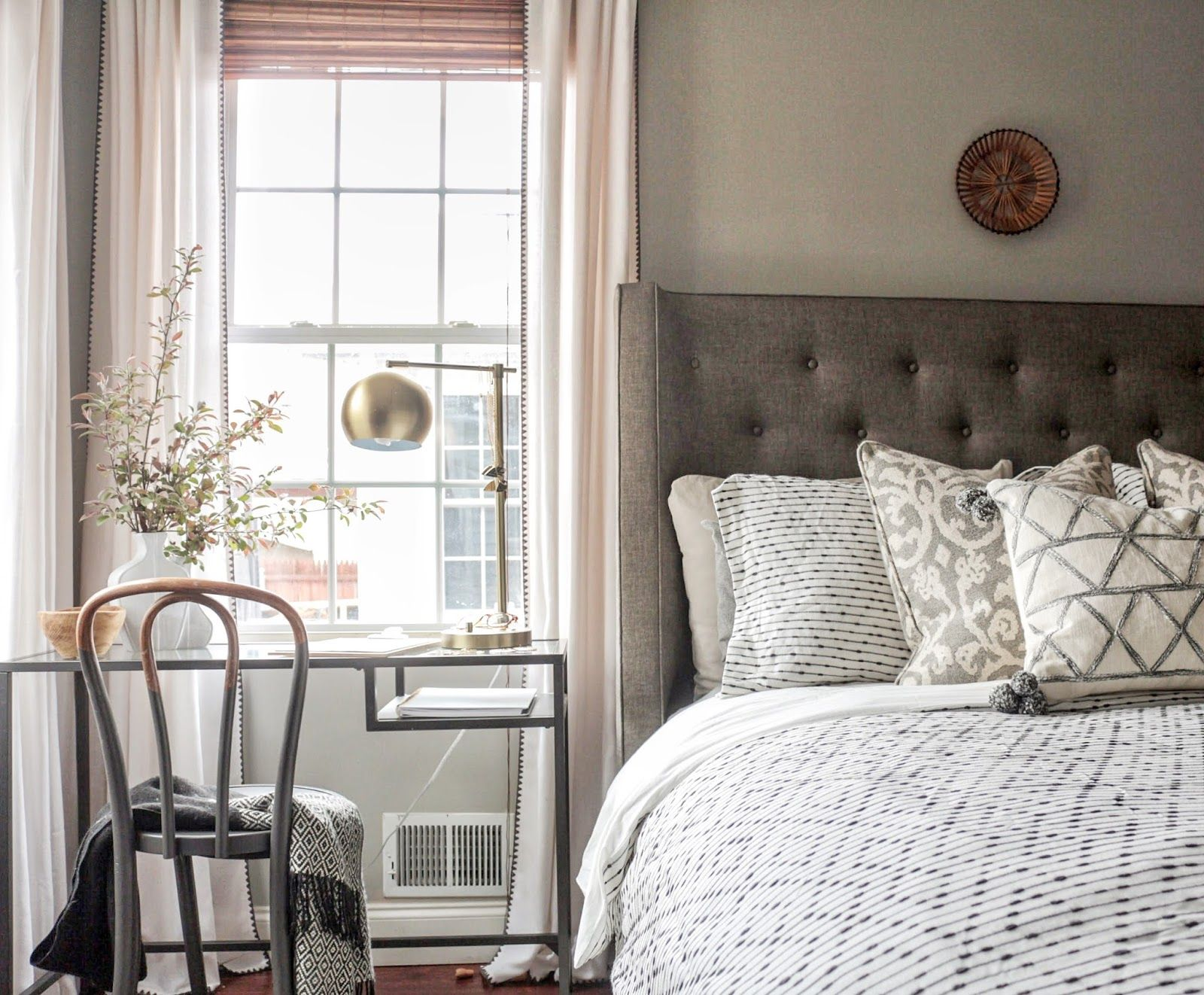 The Makings of A Simple and Sophisticated Master Bedroom