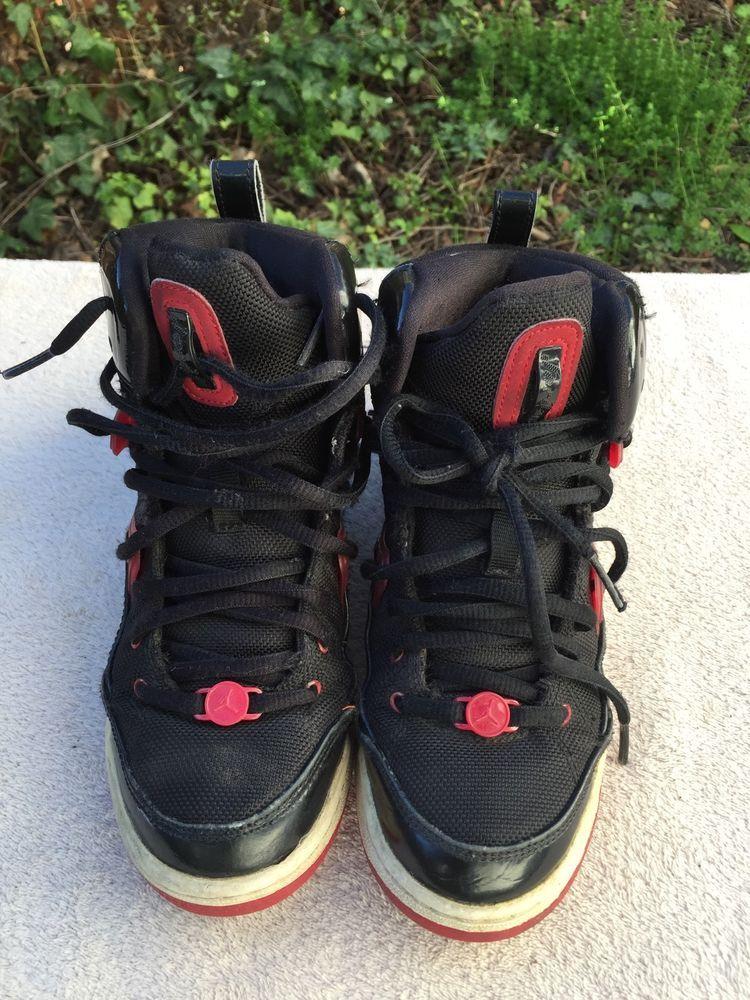 bf8052400b8 eBay  Sponsored Nike Air Jordan Flight TR  97 Black Red White 428827-011 GS  SZ 4Y