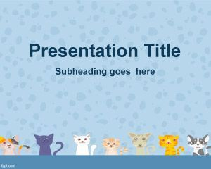 cats background for powerpoint | ica | pinterest | ppt template, Modern powerpoint