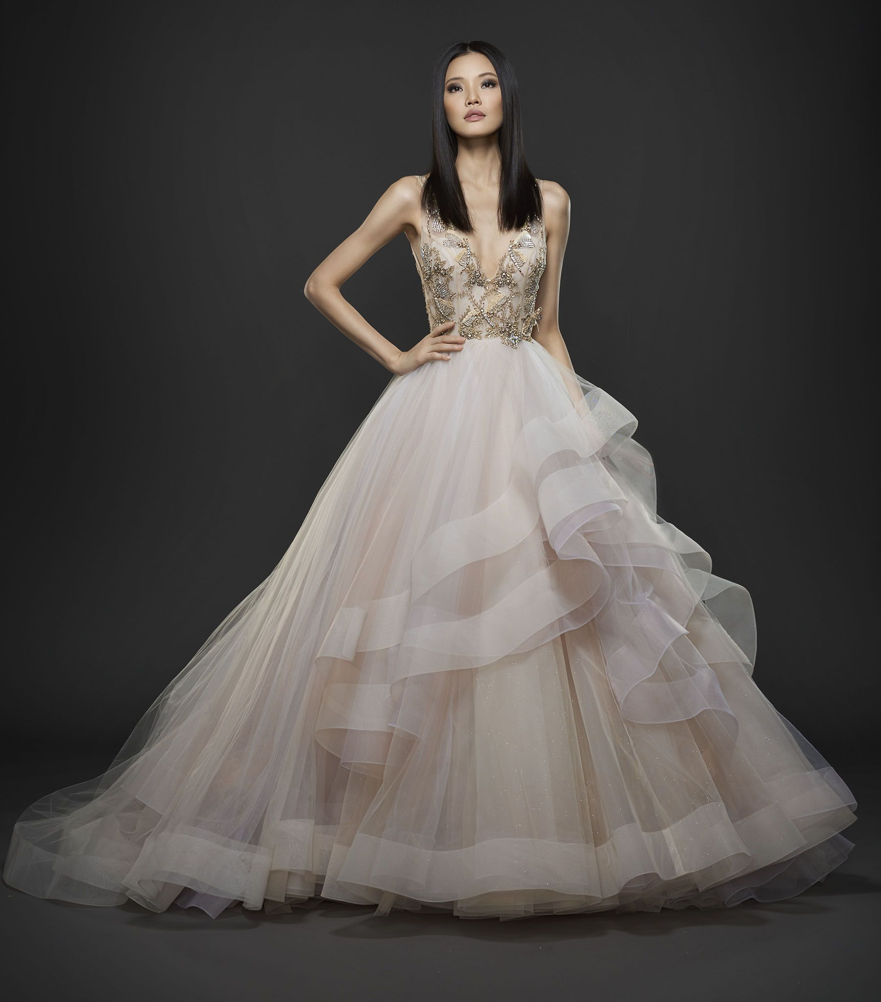 Lazaro 2018 Wedding Dress Available At Esposa Prive Stores In