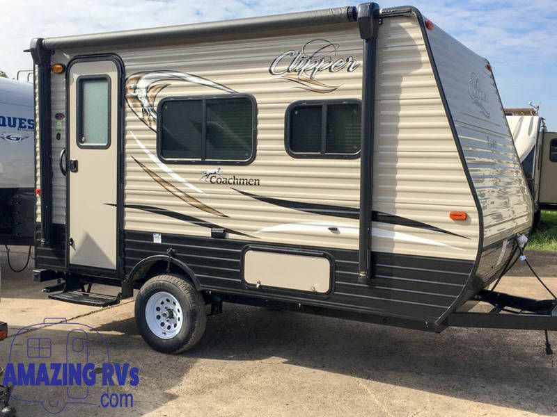 2018 coachmen clipper ultra-lite 14cr, travel trailers rv for sale