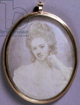 Portrait Miniature of Georgiana, Duchess of Devonshire, c.1775 (w/c on ivory)