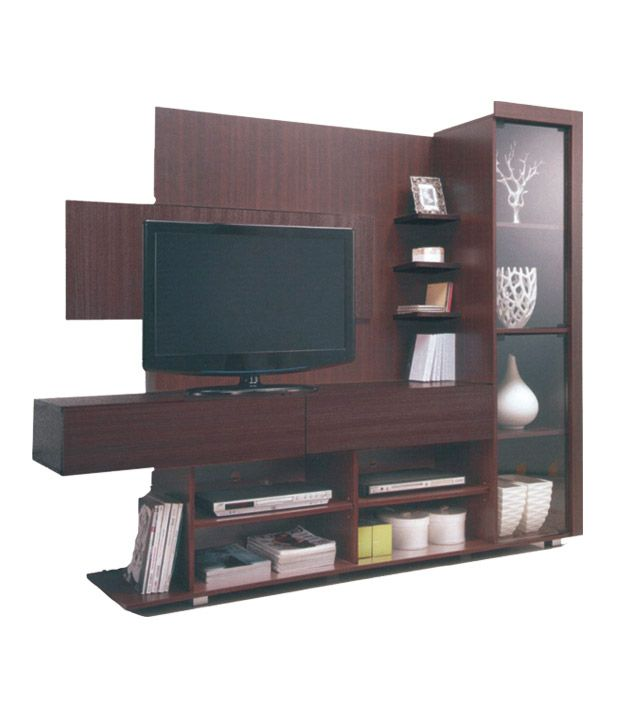 SA Plasma Wall Unit In Walnut Color By Zuari With Best Price @ Rs ...