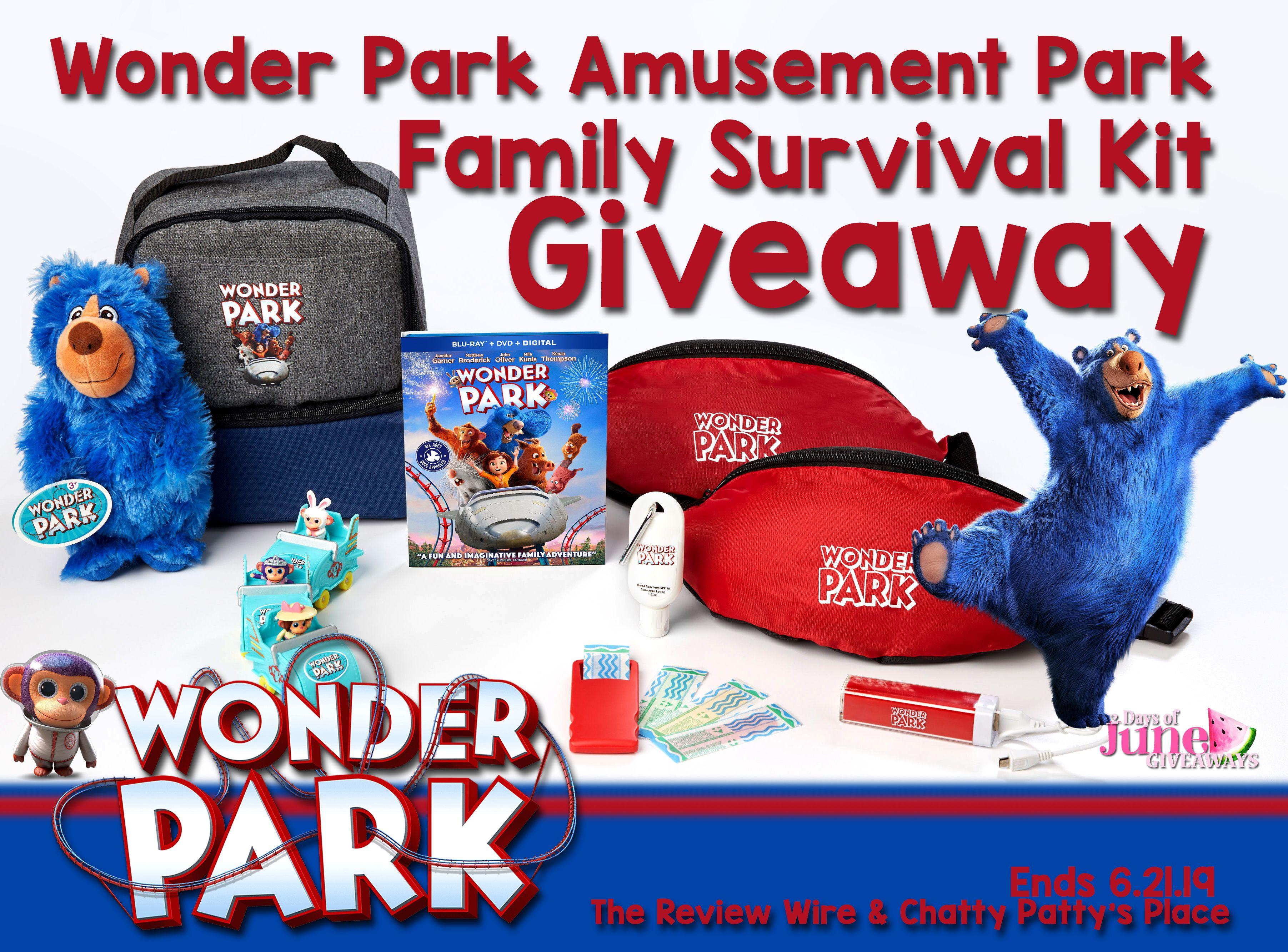 Wonder Park Amusement Park Family Survival Kit Giveaway Over Survival Amusement Park Amusement