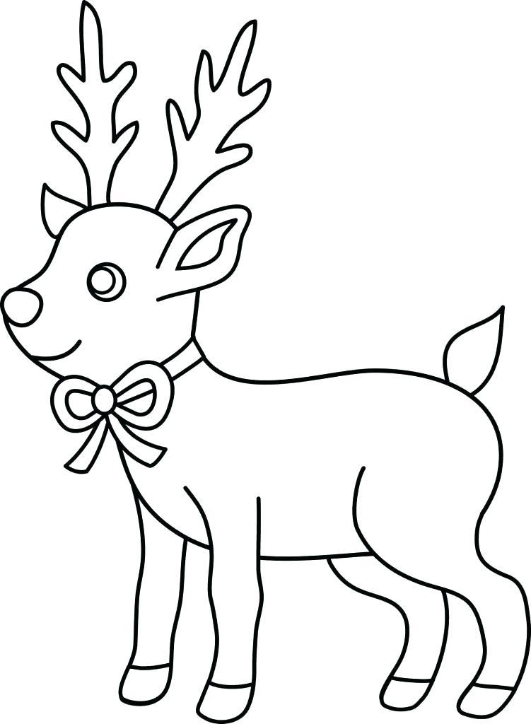Dibujos De Renos Tutorial Aprende A Colorear Un Reno Facil Dibujos De Renos Dibujo De Navidad Hojas De Navidad Para Colorear