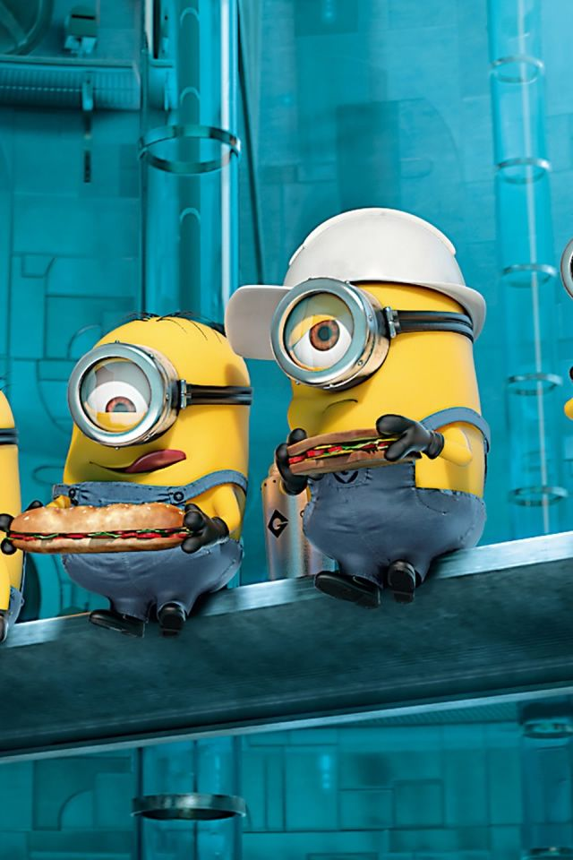 Paradise Minions Despicable Me IPhone 4s Wallpaper