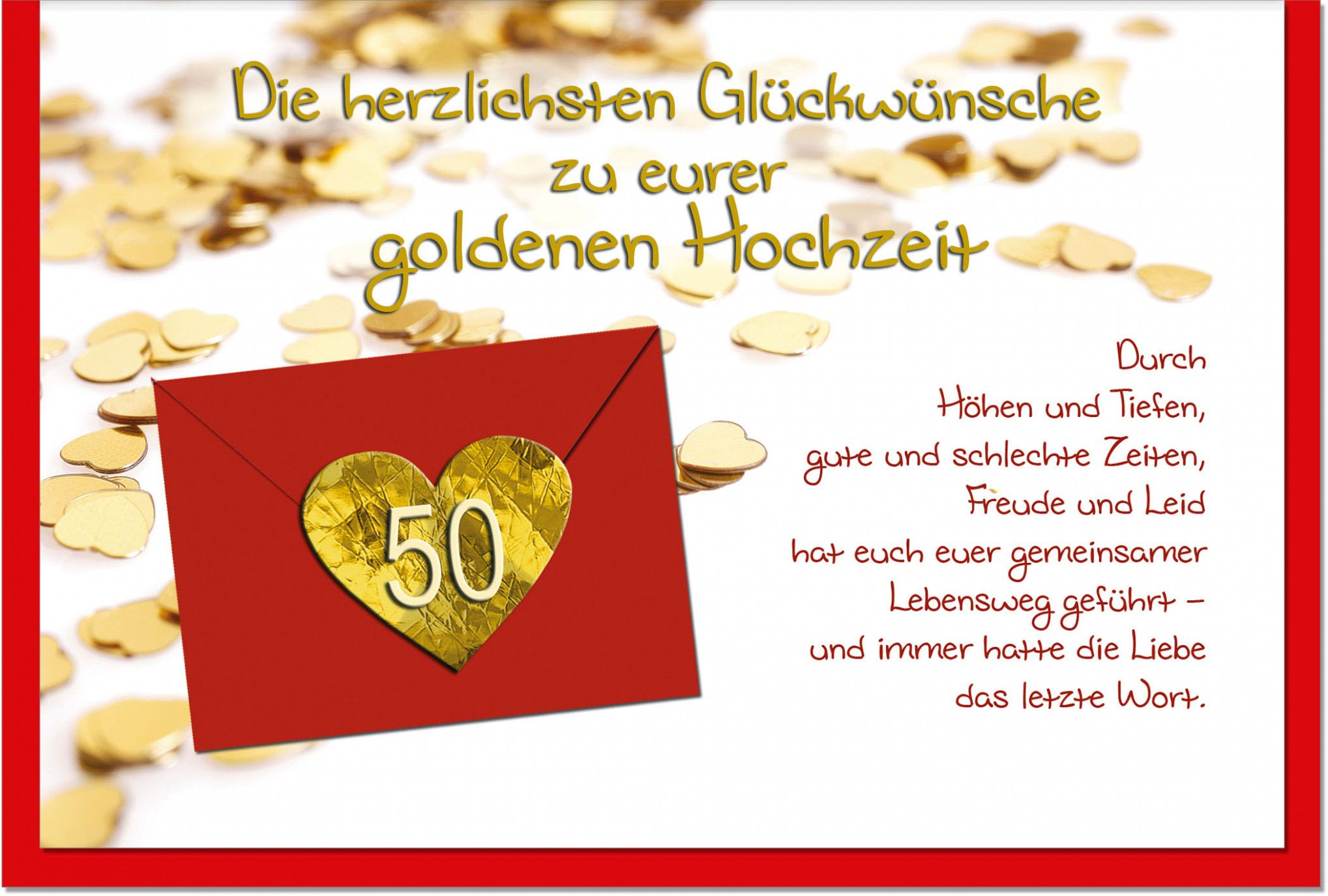 Karte Schreiben Zur Goldenen Hochzeit Danksagung Karten Hochzeit Spruch Karte Einladungskarten Goldene Hochzeit