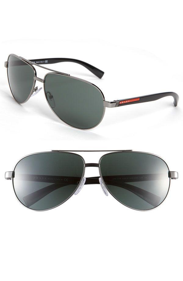 12b2904c15f9 prada aviators | steeze | Ray ban sunglasses, Ray ban sunglasses ...