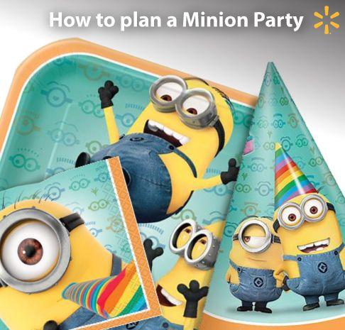 Walmart Ideas Walmart Com Minion Party Birthday Party Themes Boy Birthday Parties