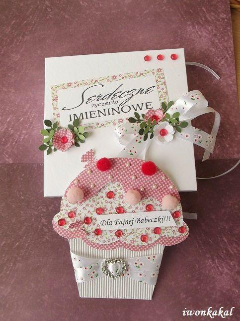 Kartka Babeczka Dzien Matki Urodziny Imieniny 5286833623 Oficjalne Archiwum Allegro Crafts Gift Wrapping Christmas Stockings