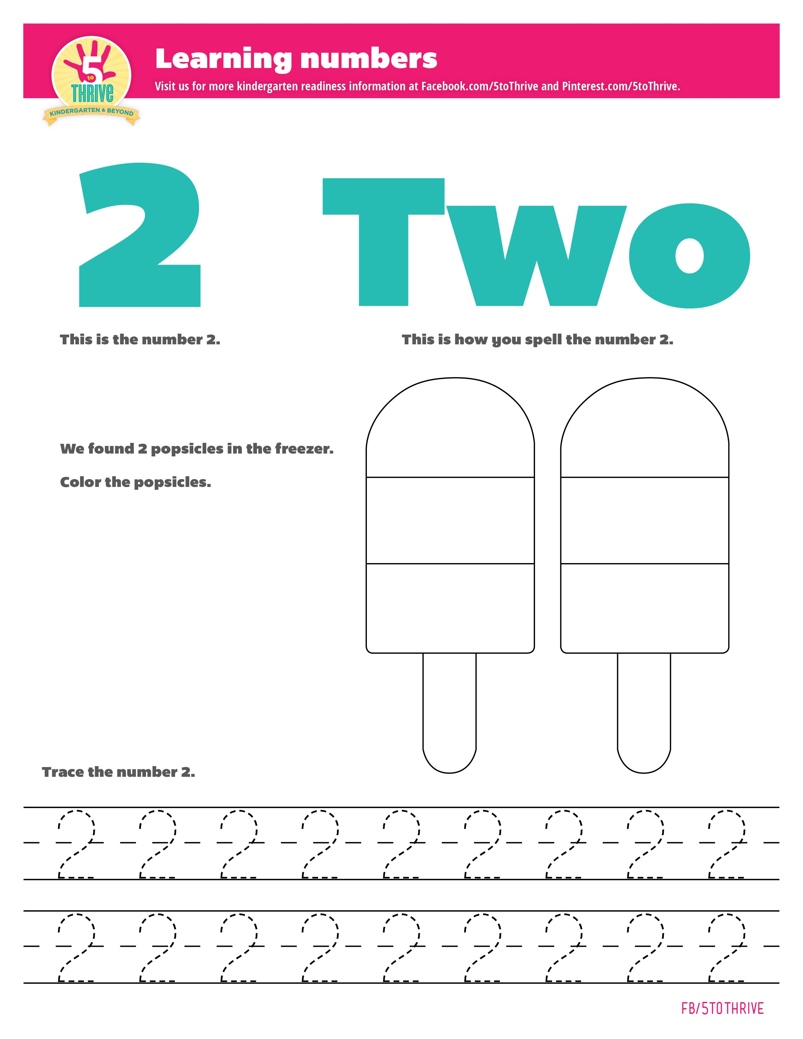 Learning Numbers This Is What The Number 2 Looks Like