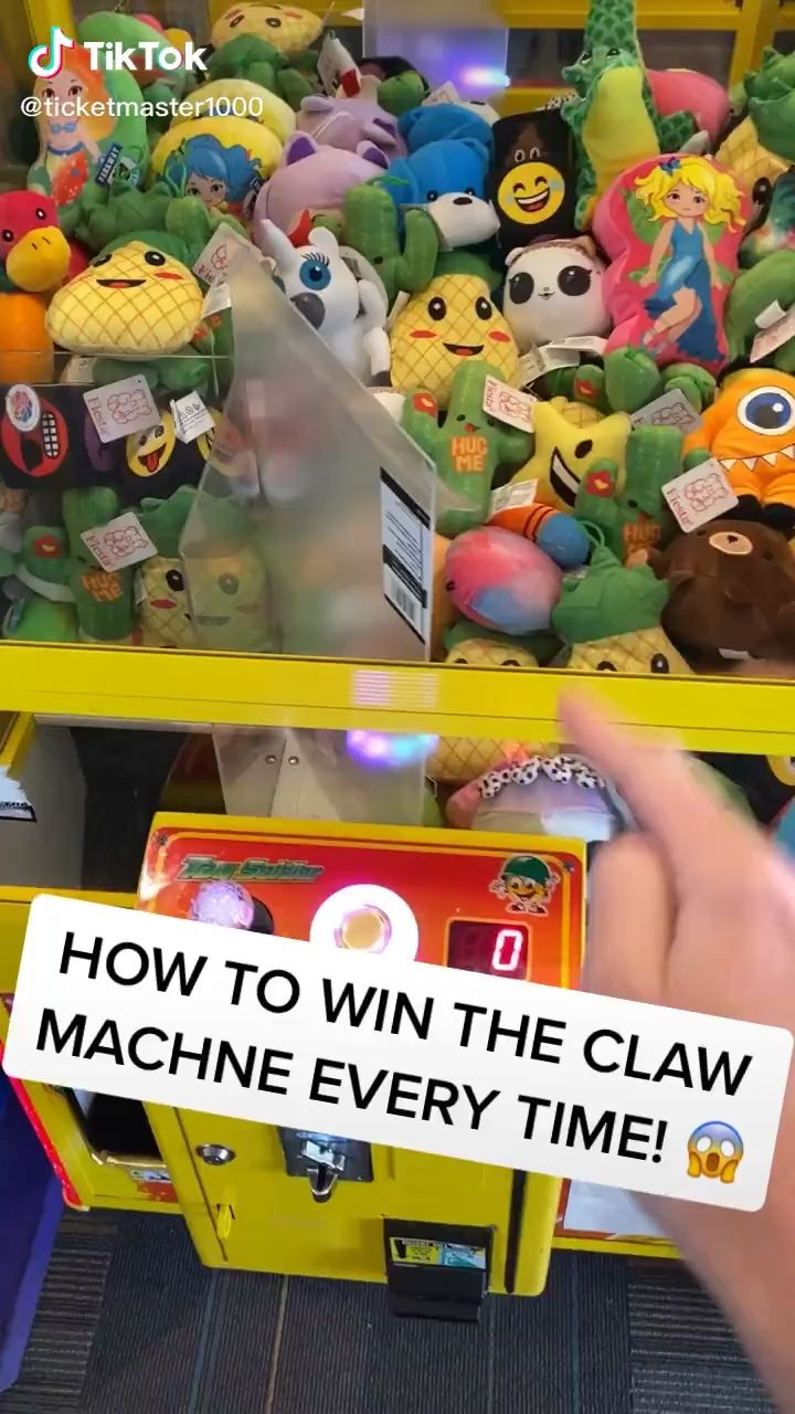 How To Always Win The Claw Machine Video In 2020 Everyday Hacks Amazing Life Hacks Useful Life Hacks