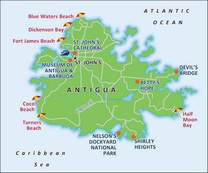 Antigua port map cruise april 2013 pinterest antigua cruises antigua port map gumiabroncs Image collections