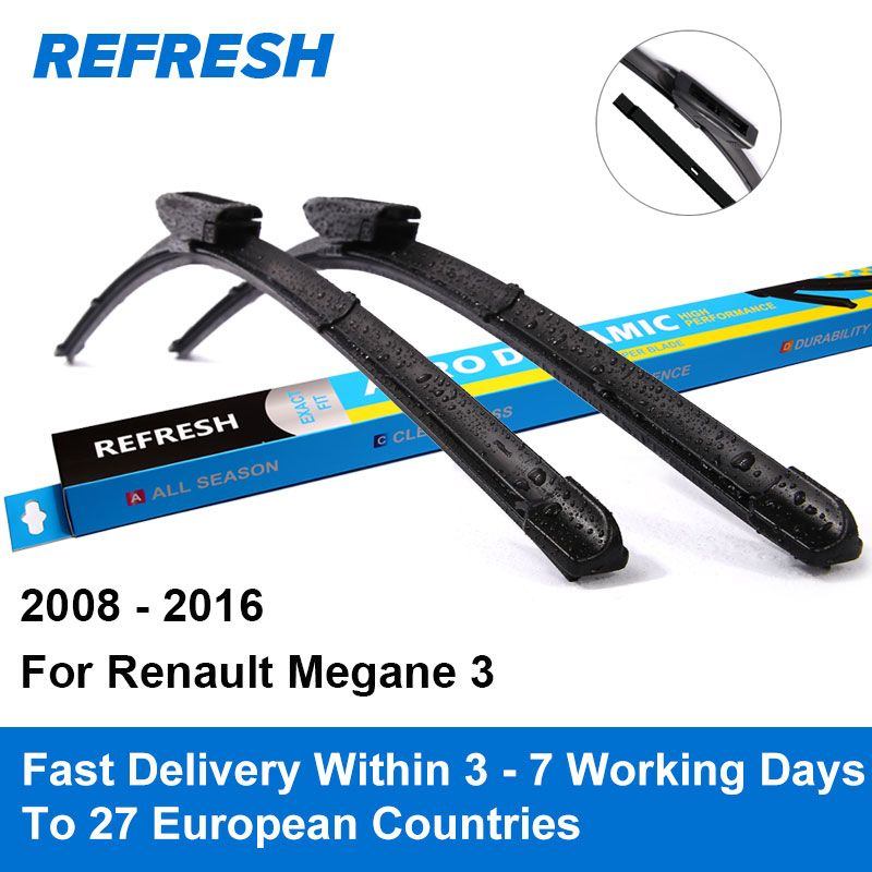 Buy Now 4 Xmas N Ny Refresh Wiper Blades For Renault Megane Mk3 24 Dacia Sandero Renault Megane Renault
