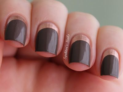 Ruffian Nails with Essie - Penny Talk & Catrice - Lost In Mud