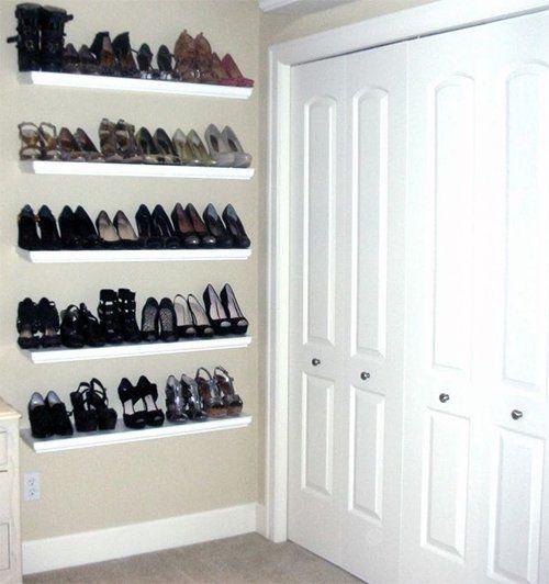 30 Por Collection Wall Mount Shoe Storage