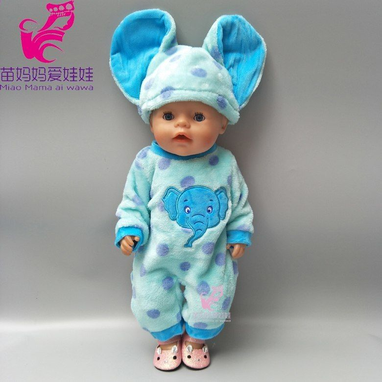 d504cc1a6352 43cm Baby rodí panenku Kvalitní růžová princezna flitry jeden kus šaty pro  18