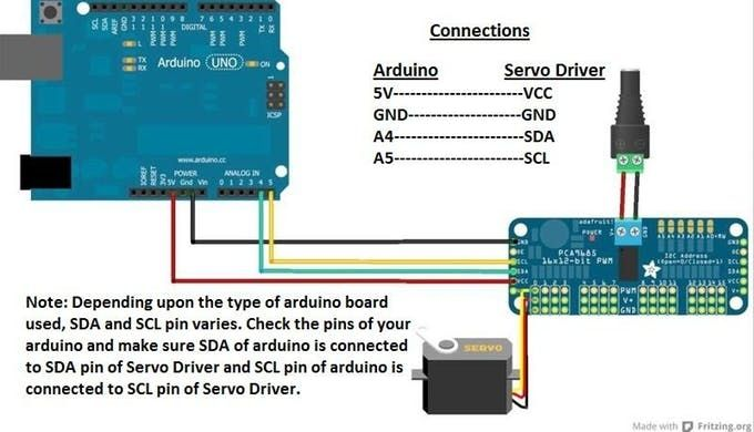 This tutorial will show you how to control servo motor using arduino