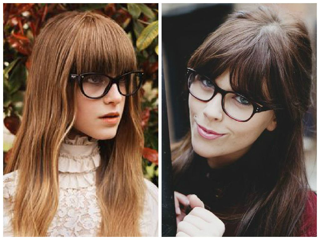 Bangs And Gles Can Be Adorable Quirky Or Edgy But It Could Also Look Like Your Entire Face Is Nothing Frames