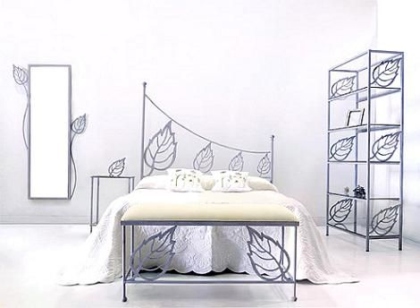 Cama de forja original Recamara Pinterest Meubles en métal - meuble en fer design