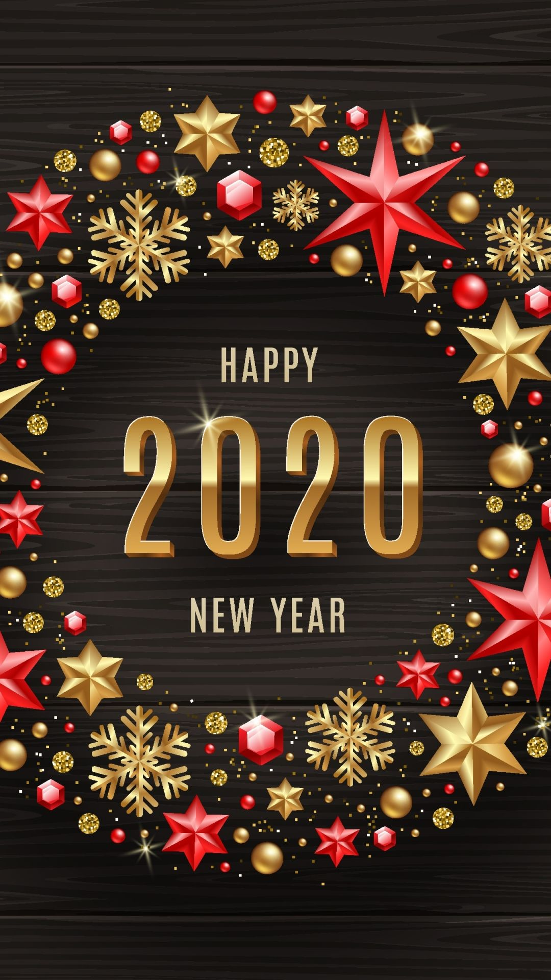 Happy New Year 2020 Wishes Wallpaper New Year Wishes For Whatsapp Happy New Year Wallpaper Happy New Year 2020 New Year 2020
