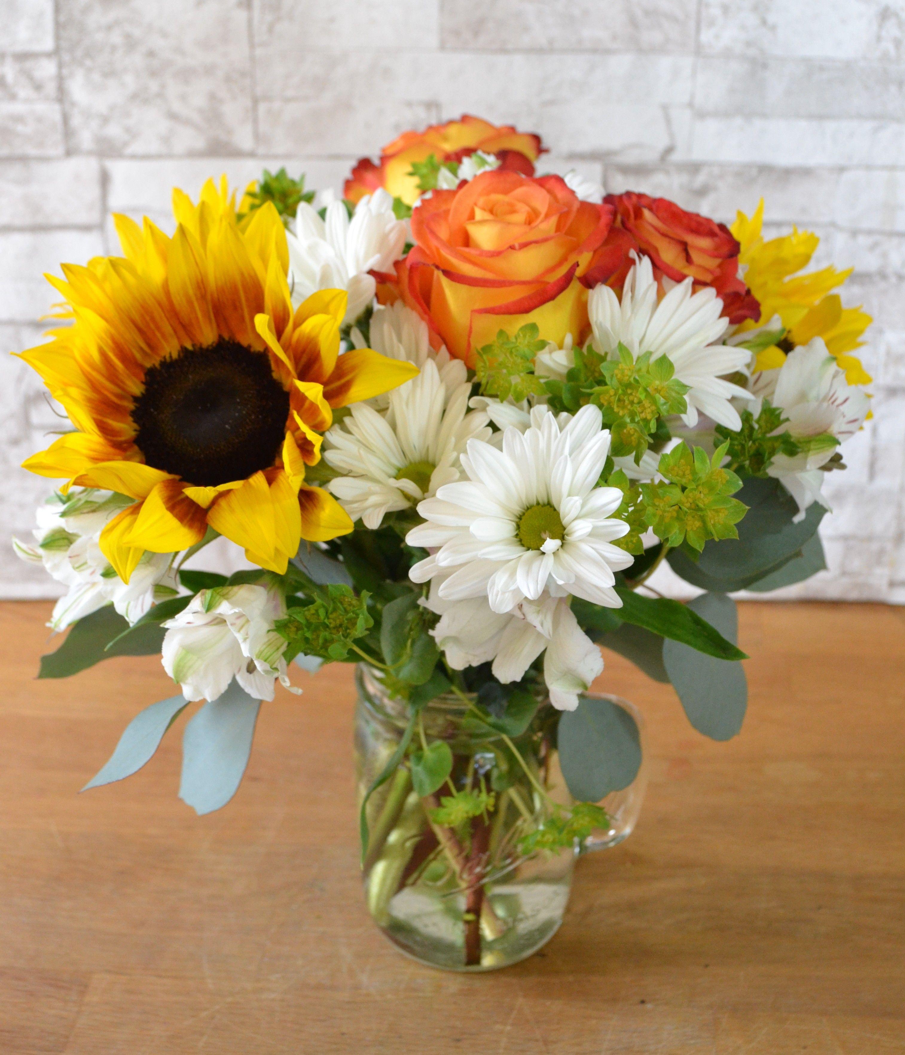 Mason jar in irvine ca flowersynergy iris wedding