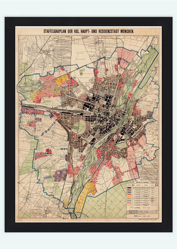 Old map of munich munchen germany deutshland 1900 maps pinterest old map of munich munchen germany deutshland 1900 gumiabroncs Choice Image