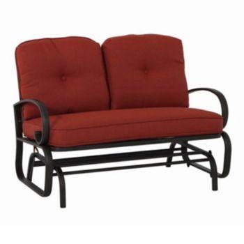 Strange Sonoma Goods For Life Claremont Loveseat Glider The Old Creativecarmelina Interior Chair Design Creativecarmelinacom