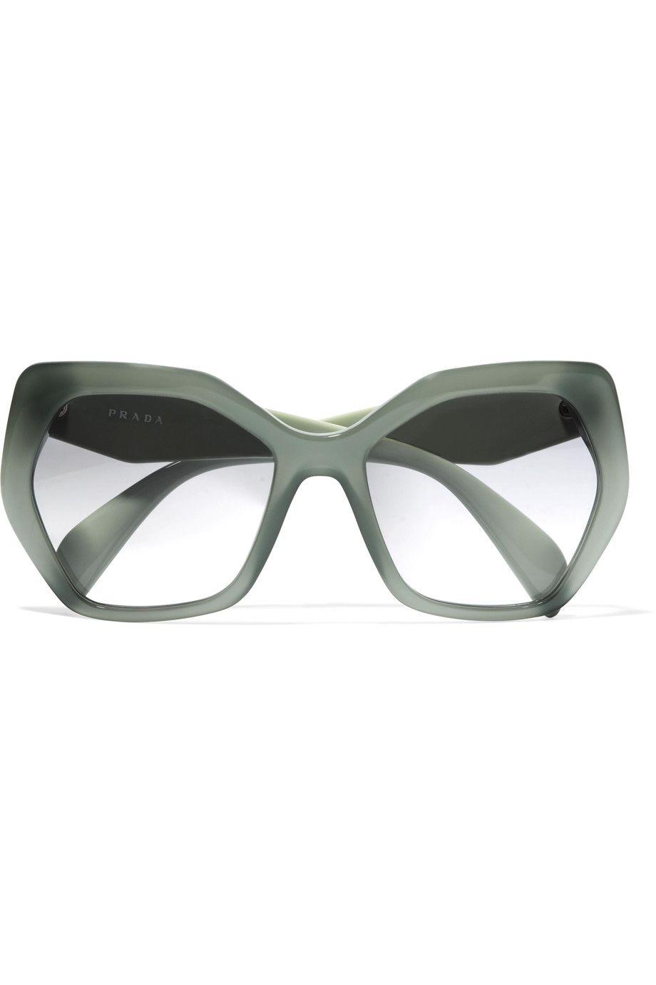 e9ff1c23f06e Shop on-sale Prada Square-frame acetate sunglasses. Browse other discount  designer Sunglasses & more on The Most Fashionable Fashion Outlet, THE  OUTNET.COM