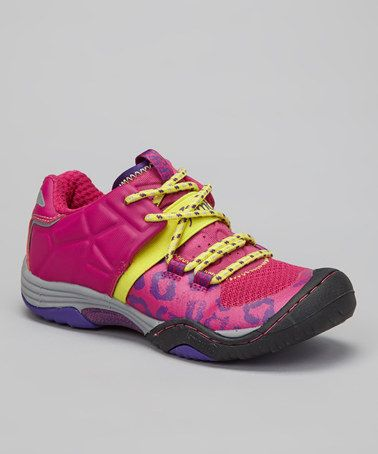 Another great find on #zulily! Fuchsia Agami All-Terrain Shoe - Girls #zulilyfinds